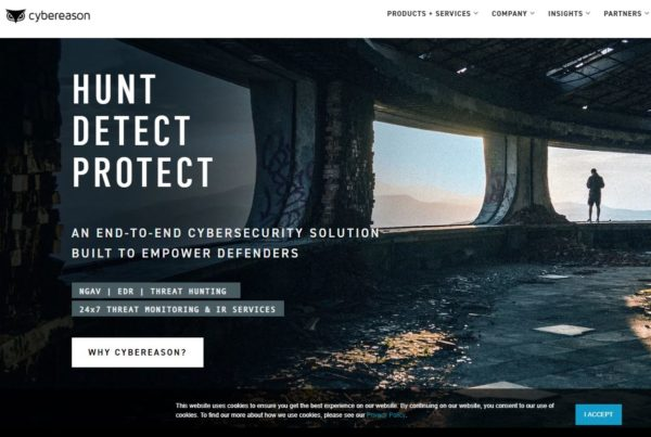 AN END-TO-END CYBERSECURITY SOLUTION  BUILT TO EMPOWER DEFENDERS