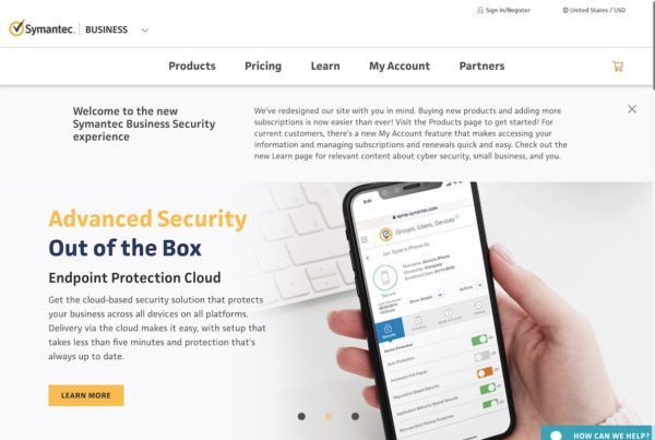 Security products and solutions to protect small, medium, and enterprise businesses.