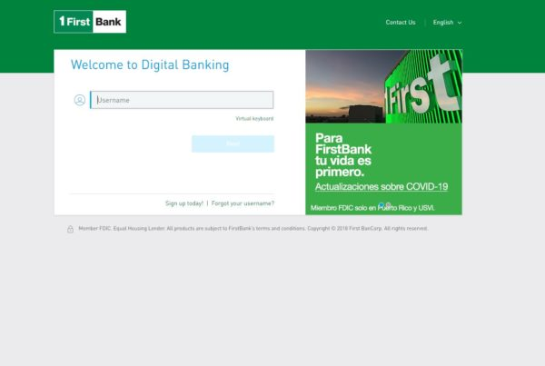 Welcome to Digital Banking